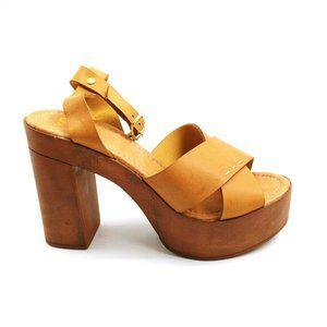 Yoki Louise 60 High Heel Platform Sandal 8.5 New